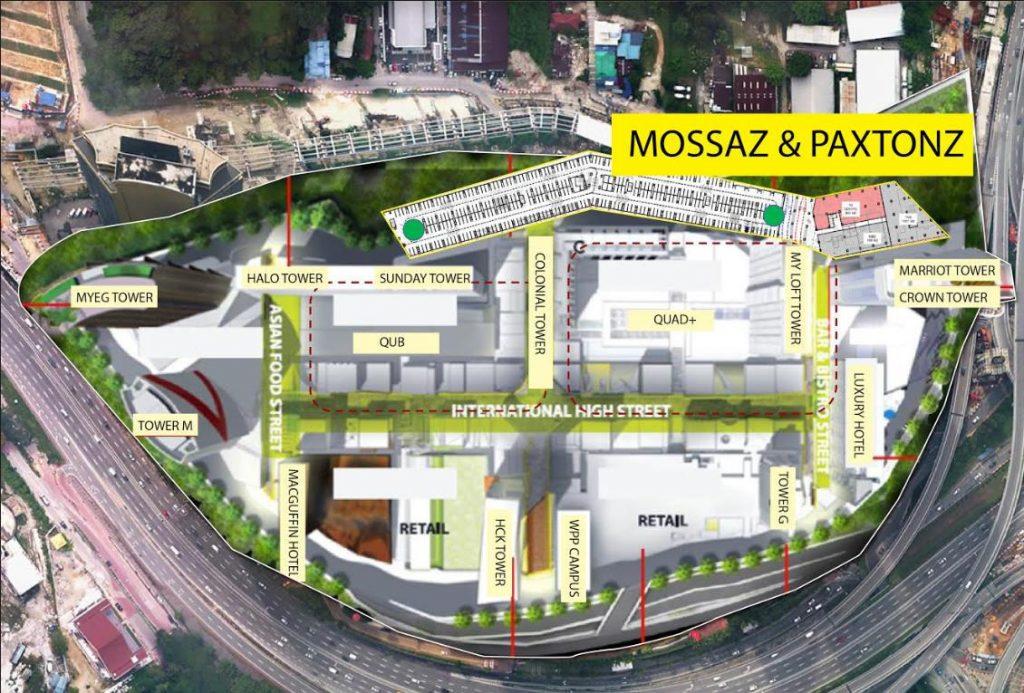Mossaz-suites-empire-city-damansara-site-map
